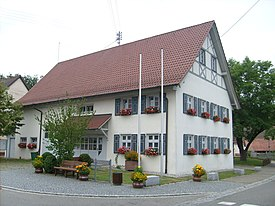 Krauchenwies-Göggingen city hall.jpg