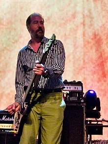 Novoselic performing in September 2011