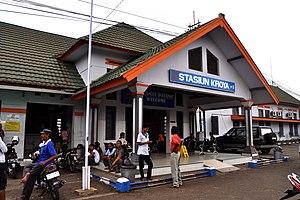 Stasiun Kroya Wikipedia Bahasa Indonesia Ensiklopedia Bebas