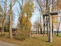 Kryžius prie Vaižganto sodybos, Maleišiai (Anykščiai).JPG