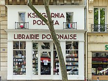 librairie polonaise de paris wikip dia. Black Bedroom Furniture Sets. Home Design Ideas