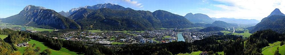 Kufstein és az Inn völgye