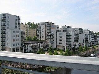 District of Jyväskylä in Western Finland, Finland