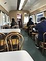 Kyoto Railway Museum dining car interior.jpg