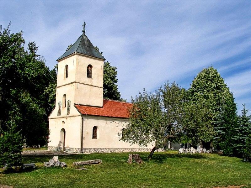 L'église orthodoxe serbe de Sirogojno