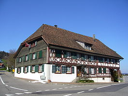 "The inn ""Löwen"", in Herdern"
