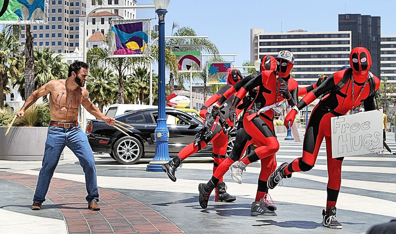 Image result for deadpool cosplay