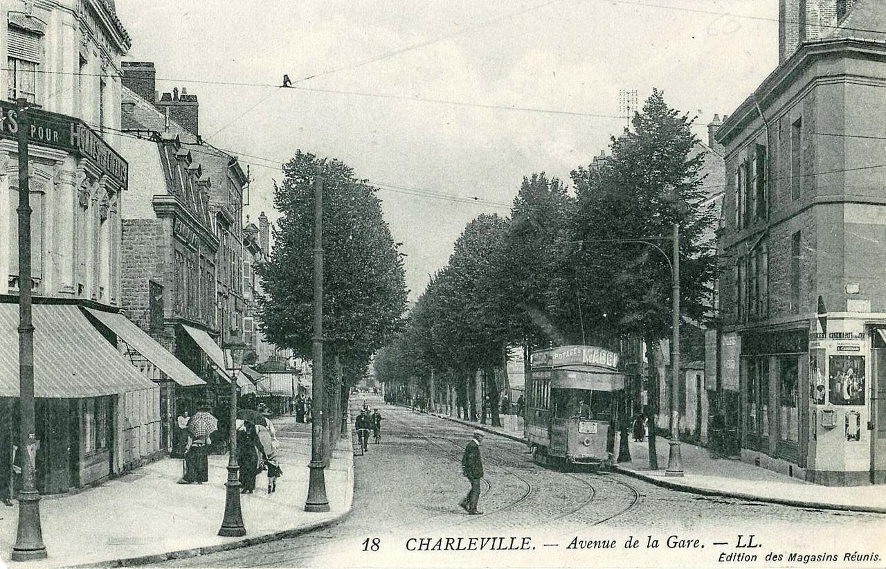 File ll 18 magasins r unis charleville avenue de la gare jpg wikimedia commons - Magasin avenue de la gare luxembourg ...