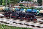 LV-0233 steam locomotive at the station Taganrog-II IMG 9835 2175.jpg