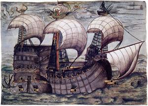 Klein-Venedig - The La Santa Trinidad, in which Philipp von Hutten crossed the Atlantic in 1535