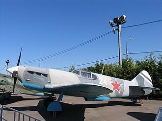 Lavochkin-Gorbunov-Gudkov LaGG-3 - Image: La GG 3 Moscow