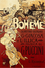 Original poster for La bohème