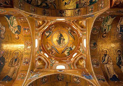 La Martorana (Palermo) - Dome