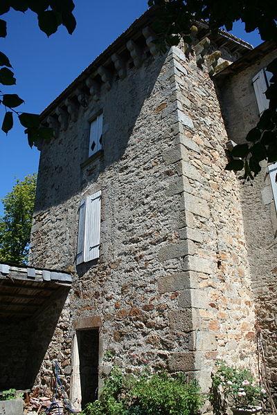 La Salvetat-sur-Agout (Hérault) - château d'Arifat - Tour ouest.