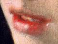 La jeune fille à la perle - Vermeer - détail de la bouche.png