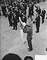 Laatste dag staatsbezoek Franse president Coty aan Nederland. Vertrek en afschei, Bestanddeelnr 906-6216.jpg