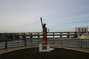 Lady Liberty, part of Strengthen the Arm of Li...