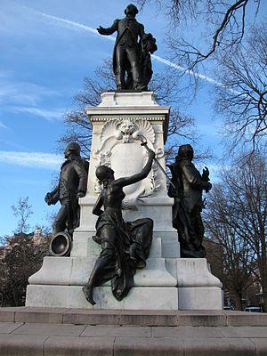 Major General Marquis Gilbert de Lafayette - Image: Lafayette group