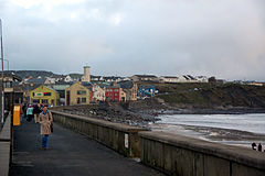 Lahinch promenade in February 2012