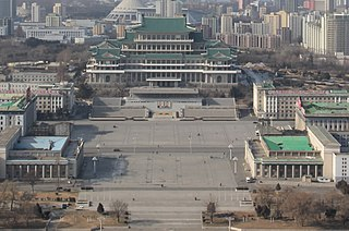 square in Pyongyang, North Korea