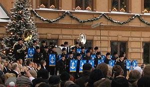 Christmas Peace - Image: Laivaston soittokunta joulurauha