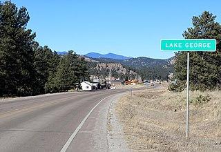 Lake George, Colorado Unincorporated community in Colorado, United States