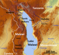 Lake Malawie Tanzania OSM.png