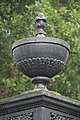 Lamp Holder - Cast Iron Gate - Serampore College - Hooghly 2017-07-06 0938.JPG