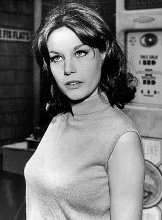 Lana Wood - Publicity photo of Wood in the ABC television series Peyton Place, 1966.