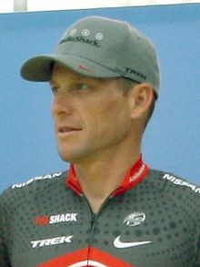 Lance Armstrong Tour 2010 team presentation (cropped).jpg