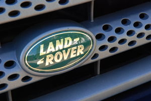 Land Rover Badge