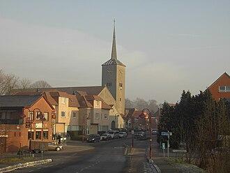 Nevele - Image: Landegem dorp België