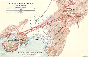 Siege of Athens and Piraeus (87–86 BC) - Image: Lange Mauern