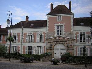 Lardy, Essonne - The town hall in Lardy