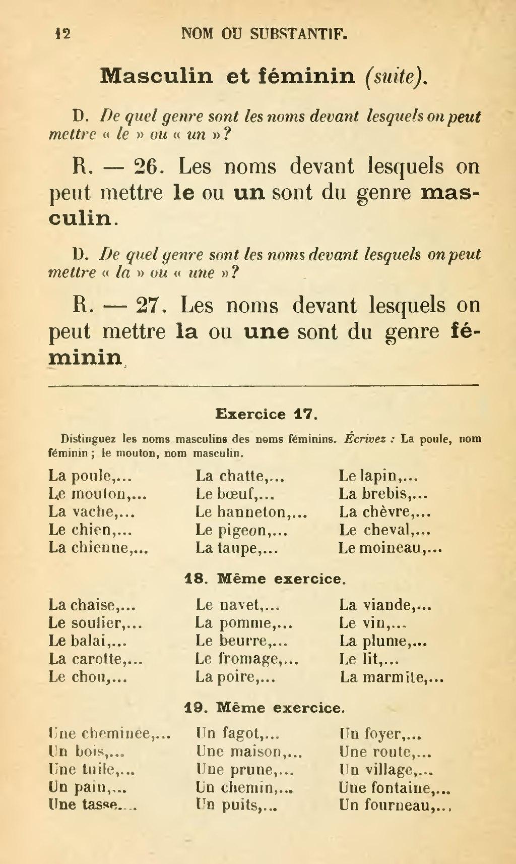Tuile En Bois Nom page:larive fleury grammaire 1910 tome 1.djvu/22 - wikisource