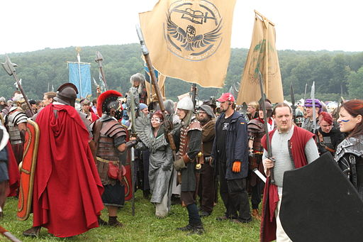 Larp Drachenfest 2012 (stseen lõpulahingust)