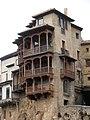 Las Casas Colgadas. Esa balconada necesita una capa de barniz. - panoramio.jpg