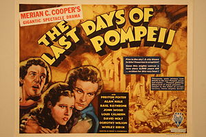 The Last Days of Pompeii (1935 film) - 1935 half-sheet poster