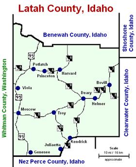 Latah county (ID) roads.PNG