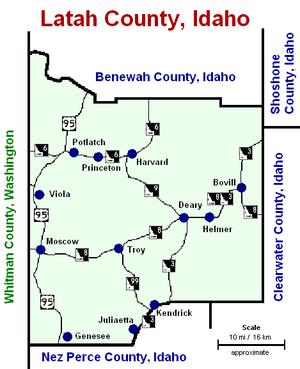 Latah County, Idaho - 280 px