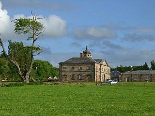 Lathom village and civil parish in Lancashire, England