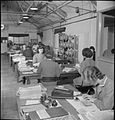 Laundry in Wartime- the work of Gleniffer Laundry, Catford, London, England, UK, 1944 D23268.jpg