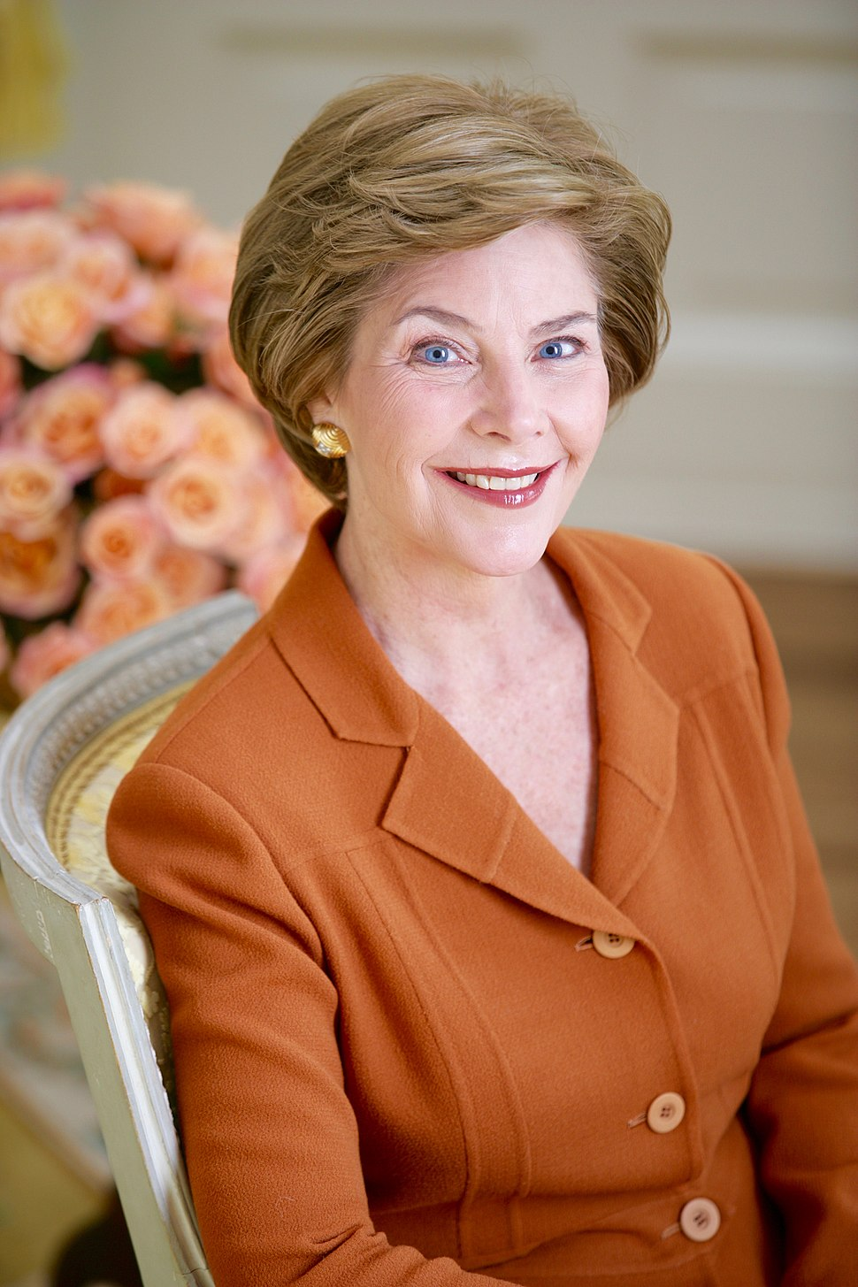 Laura Bush portrait