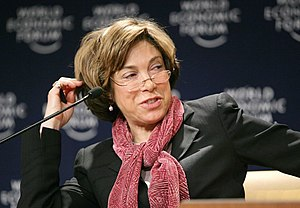 Laura Tyson - Tyson at the World Economic Forum in Davos, Switzerland, 2007