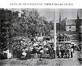Laying of the Cornerstone - North Parkdale Methodist Church, Toronto - 1908.jpg