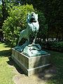 Le Lion de Nubie et sa Proie statue.jpg