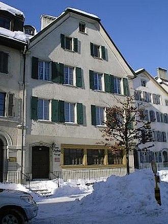 Le Locle - Maison duBois in Le Locle