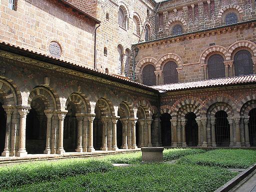 Le Puy-en-Velay - Cloître de Notre-Dame du Puy - JPG1