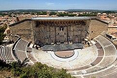 Teatro romano de Orange, Francia