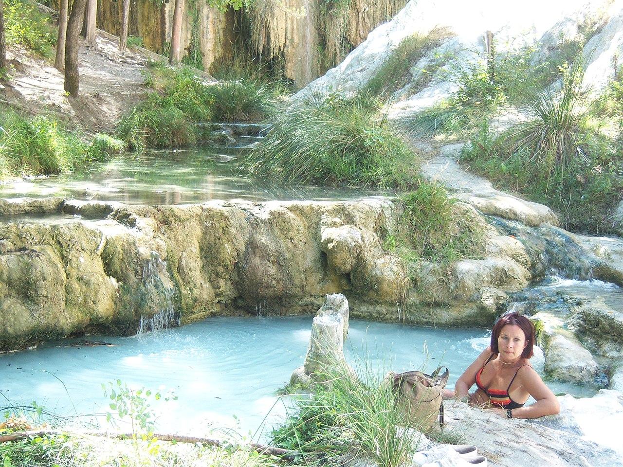 File le terme di bagni san filippo in val d orcia - Bagni di san filippo inverno ...